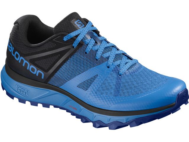 Salomon Trailster Shoes Herr indigo bunting/black/indigo bunting